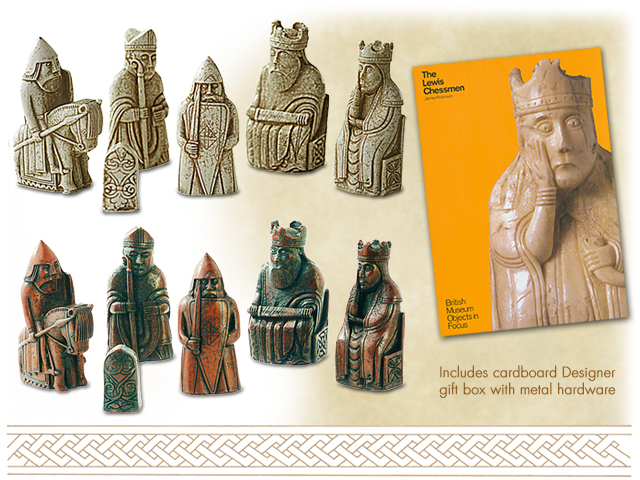 Viking Chess Set The Lewis Chessmen